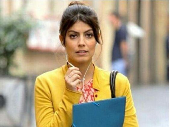 (Nella foto da Instagram, Alessandra Mastronardi in una scena della serie di Rai 1 «L'allieva» dove interpreta una studentessa di medicina legale)