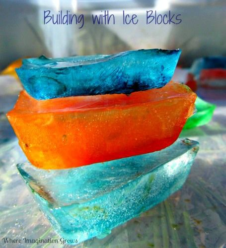 Ice Building Blocks Simple Stem For Kids Activities