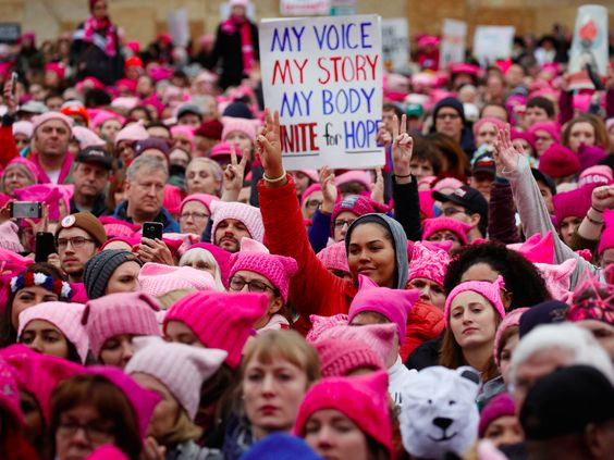 More people showed up for Women's March than Trump's inauguration - Business Insider