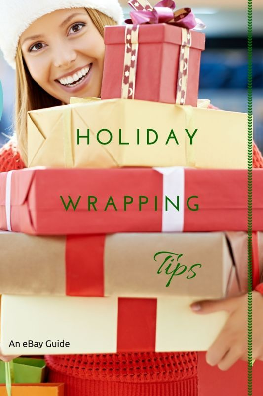 That's a wrap! Or it will be, once you gather all the holiday wrapping supplies that you need. Stock up on rolls of festive wrapping paper at the end of the season to maximize savings; then store them with other holiday trappings such as tape, gift boxes, gift bags, bows, ribbon, and tissue paper. Cute labels and tags direct each gift to the lucky recipient. Read on as eBay doles out must-have holiday wrapping tips that will take those gifts from simple to stunning in mere seconds.