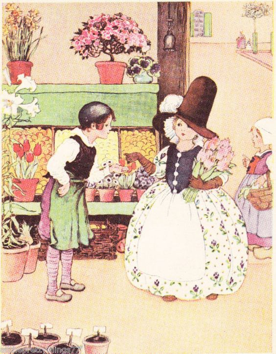 1935 Millicent SOWERBY book illustration | eBay: