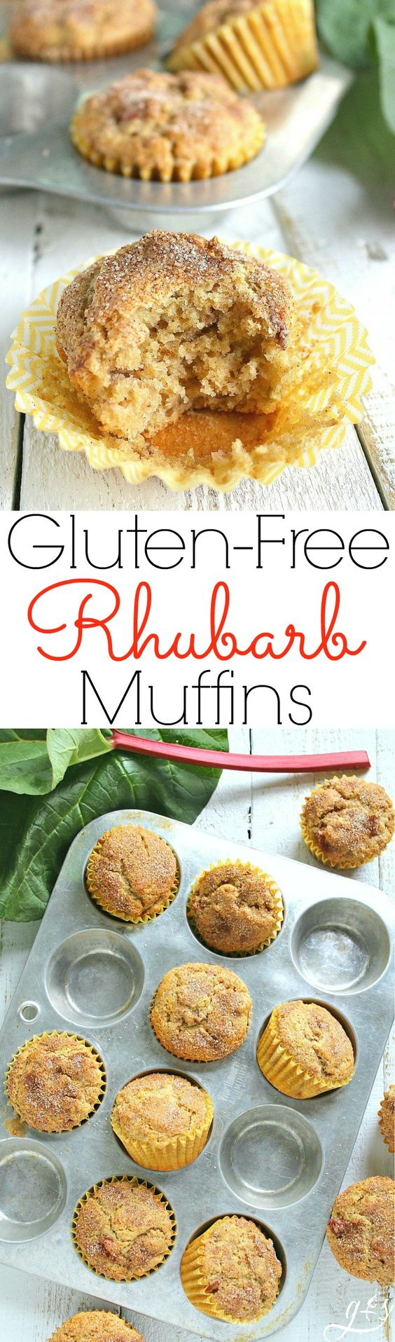 The Best Gluten Free Sour Cream Rhubarb Muffins This Easy And Healthy Breakfast Or Brunch Recipe Use Rhubarb Muffins Rhubarb Recipes Rhubarb Recipes Muffins