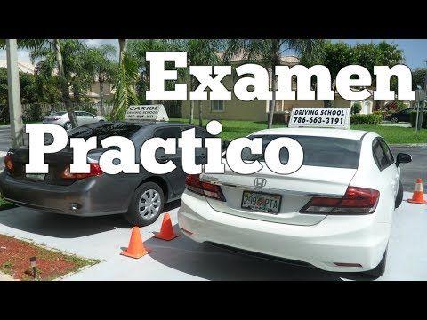 Examen practico de conduccion