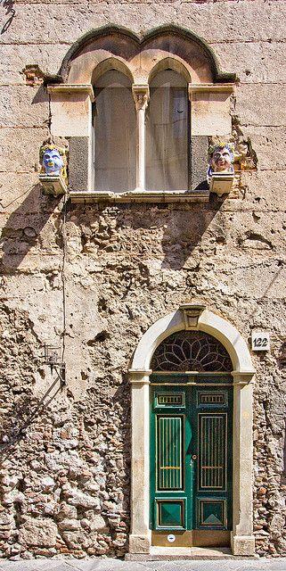 Taormina, Sicily.: