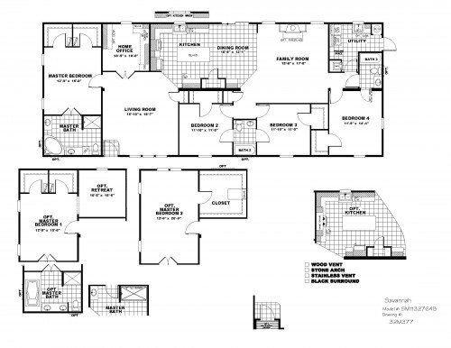 Schult Savannah By American Homes Of Tyler Modular Home Floor Plans Mobile Home Floor Plans Floor Plans