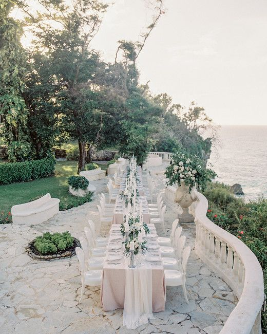 This Lush Outdoor Wedding In Playa Grande Was Lit Entirely By