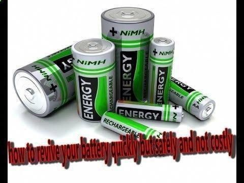 Diy Battery Reconditioning Restore Any Battery In 15 Minutes Ryobi Battery Car Battery Hacks Battery Repair