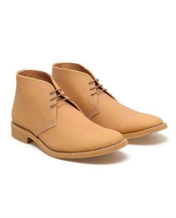 Textured rubber desert boots, MAISON MARTIN MARGIELA