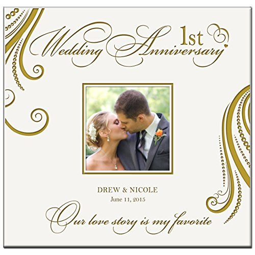 Personalized Mr Mrs 1st Wedding Anniversary Gifts Photo Https Www Amazon Com Dp B019x1fb Anniversary Photo Album Wedding Photo Albums Wedding Photo Gift