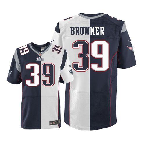 f3e5c051d ... Nike NFL New England Patriots Brandon Browner Mens Elite Team Road 39  Jersey ...