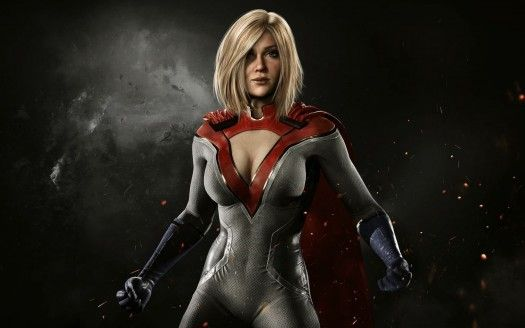 Power Girl Injustice 2 Is A Hd Wallpaper Posted In Games Category You Can Download Power Girl Injustice 2 Hd Wallpaper Poder Feminino Supergarota Injustice 2