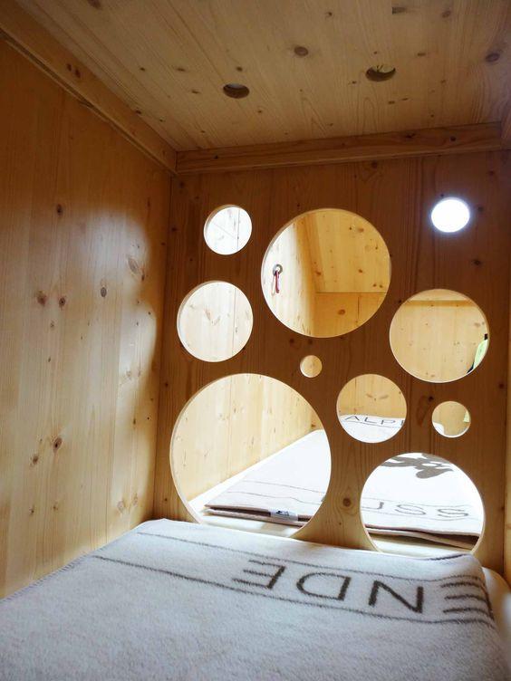 #bunkbed at #mountain #shelter #franzfischerhütte #riedingtal Austria architecture by #LüfteneggerARCHITEXTUR