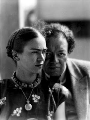 Frida Kahlo and Diego Rivera by Martin Munkacsi, 1930