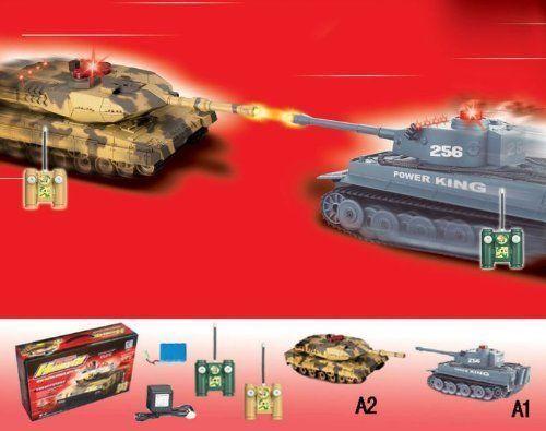 Remote Control Tanks That Shoot Army Tank Battle Toy Set Of 2 Shooting Laser Hq Rc Tank Remote Control Tanks Tanks Military