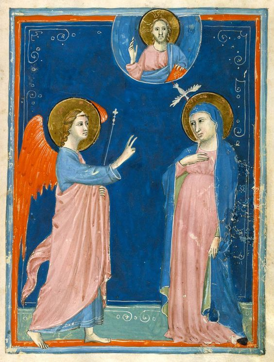 Annunciation | Vita Christi (Life of Christ) | Italy, Florence | ca. 1320 | The Morgan Library & Museum