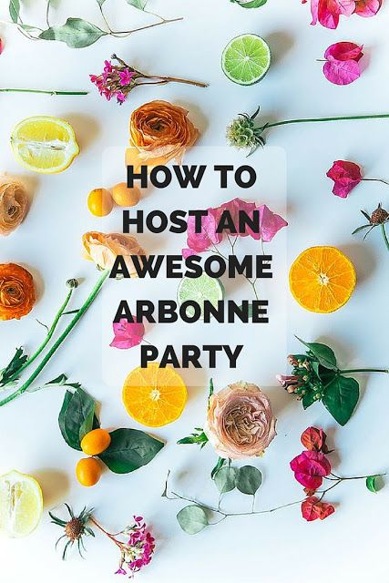 Step-by-step guide to making your next Arbonne party a smash hit!  http://debbiehawken.arbonne.com/