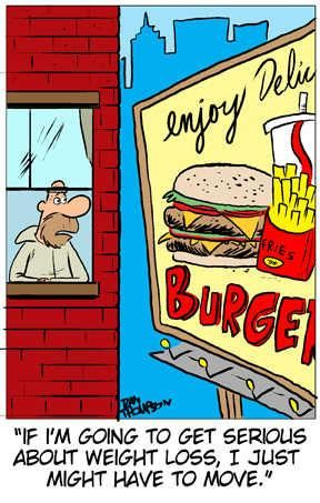 Funny weight loss cartoon. ---------- http://www.easy-fat-loss-diet.info Lose weight FAST with the Military Diet
