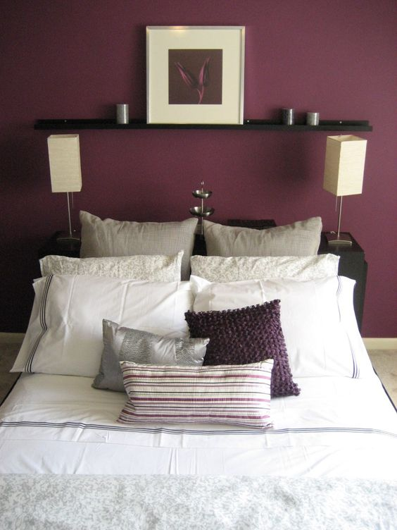 Paint Colors Plum Color And Grey On Pinterest