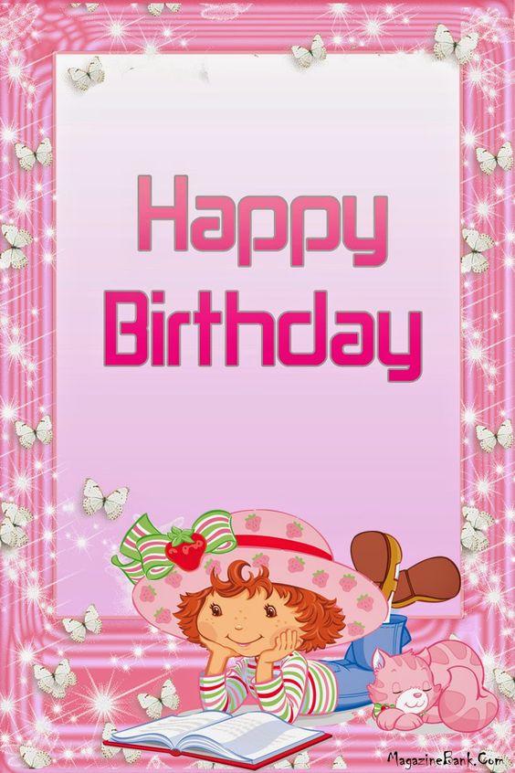 Strawberry Shortcake birthday card Pinterest – Strawberry Shortcake Birthday Card