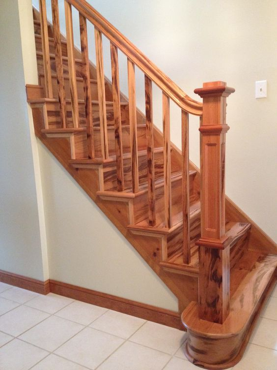 - Interior stair treads and risers ...