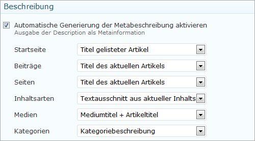 Problem mit doppelten Metabeschreibungen und Seitentiteln lösen.