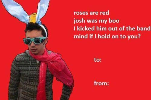 The 20 Best Twenty One Pilots Valentines Day Cards One Pilots Twenty One Pilots Valentines Memes