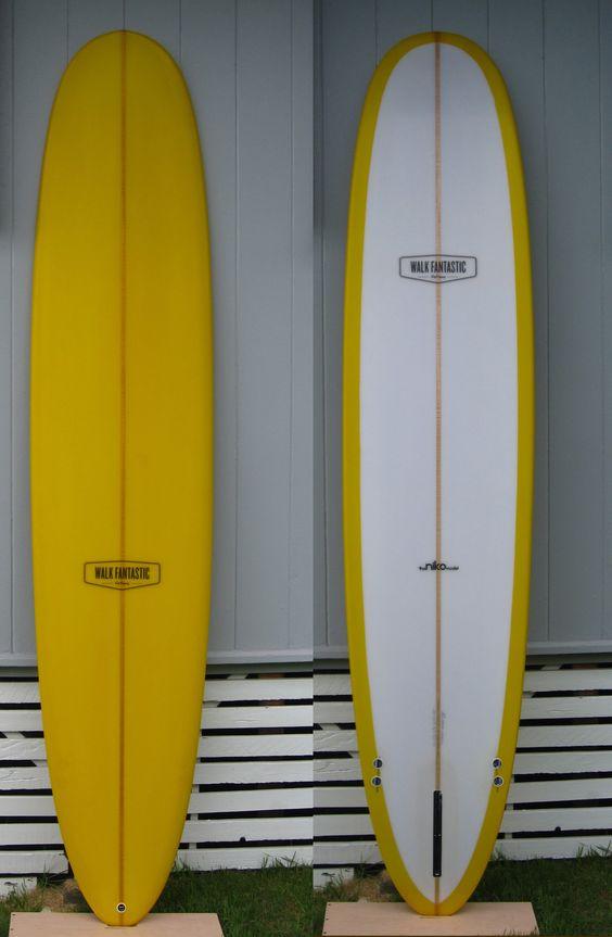 Walk Fantastic Longboard / Surfboard