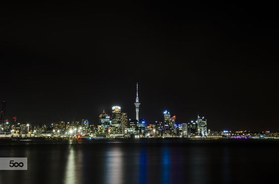 auckland city scape by Toby Baldwin on 500px