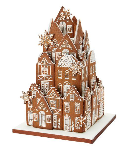 Gingerbread Village Centrepiece