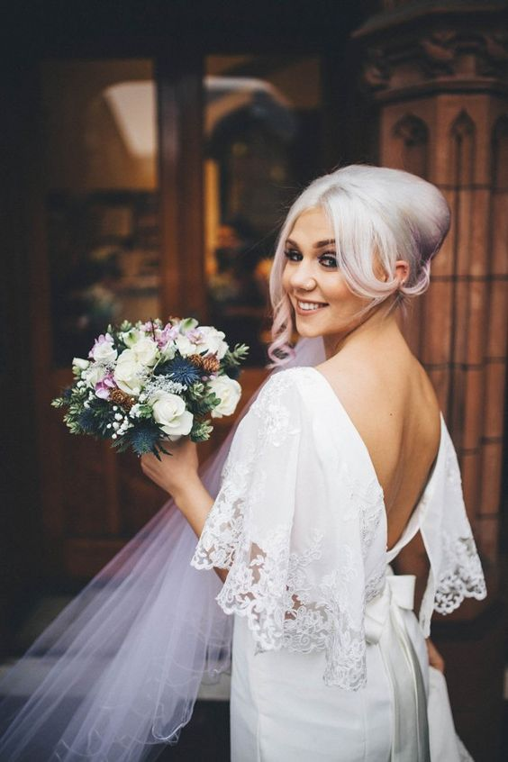 Can't get enough of this offbeat bridal style | Chris Copeland Photography