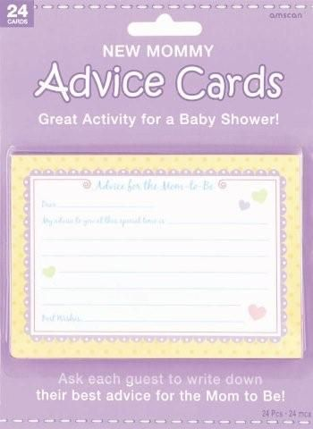 cards baby showers activities printed signs mom showers names places
