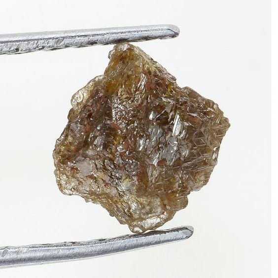 0.52 TCW Reddish Color Natural African Rough Diamonds Gems Stones
