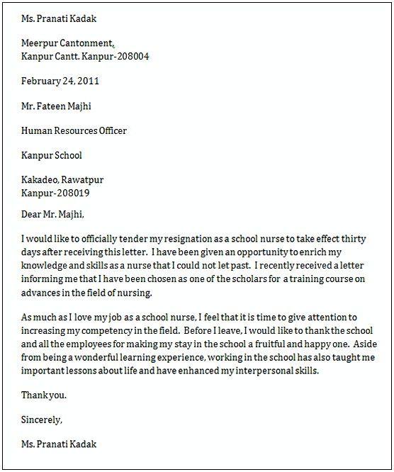 To Whom Do I Address A Resignation Letter from i.pinimg.com