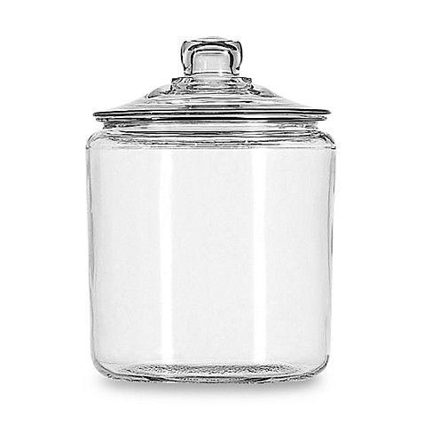 7 99 Each Member Price Bed Bath Beyond Anchor Hocking Heritage Hill 1 Gallon Storage Jar Jar Storage Glass Storage Jars Glass Food Storage