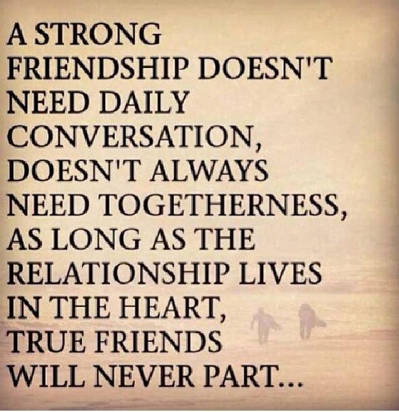 Inspirational And Friendship Quotes: Strong Friendship. A Friendship Quote That's Very