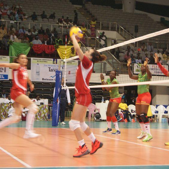 Tournoi de volley-ball féminin : Le Cameroun  bat la Tunisie 3 sets à 2 :: CAMEROON - Camer.be