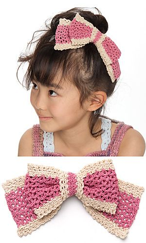 Free Crochet Patterns: Free Crochet Hair Bow Patterns: