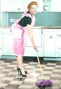 Como limpar o piso?: