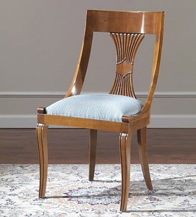 Popular chairs and end of on pinterest for Dining chair styles names