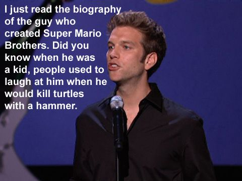 Anthony Jeselnik- this guy is so funny!