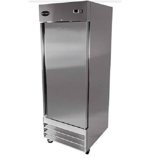 Saba S 23r Commercial Reach In Solid Swing Door Refrigerator Saba Solid Doors Adjustable Shelving Upright Freezer