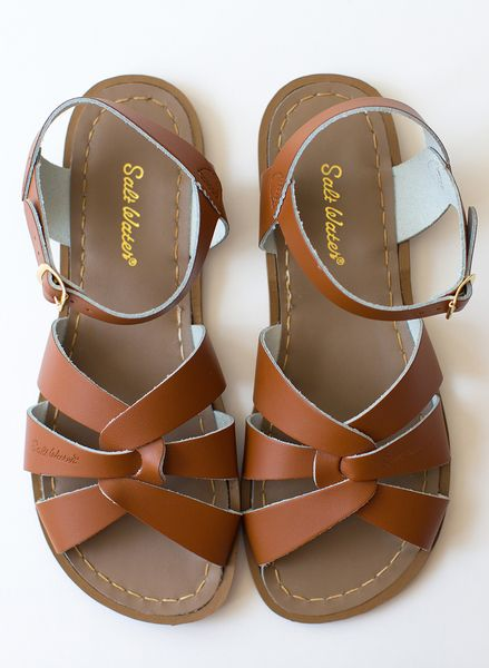 Tan Salt Water Sandals | Lime Ricki Swimwear