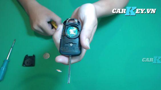 Thay vỏ chìa khóa xe Chevrolet