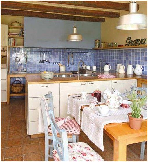 Cocina Sencilla De Campo Finca Decoracion De Casas Rusticas Interiores De Casa Rustica Fachadas De Casa Rusticas
