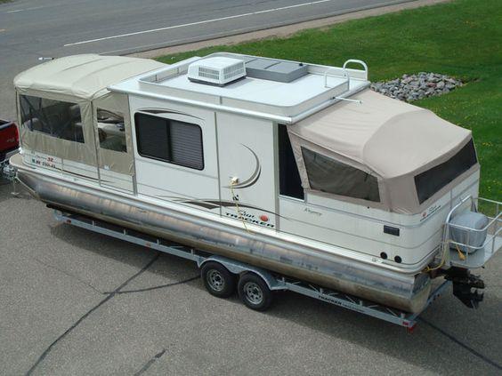 Aluminum Boat Enclosures : Pontoon boats with cabins the canvas craft guarantee