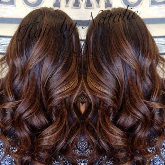 long brown hair with caramel balayage, my dark brown hair looks amazing with caramel highlights