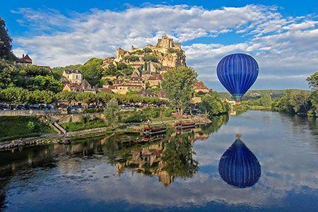 Photos du Périgord en montgolfière | Périgord Dordogne Montgolfières