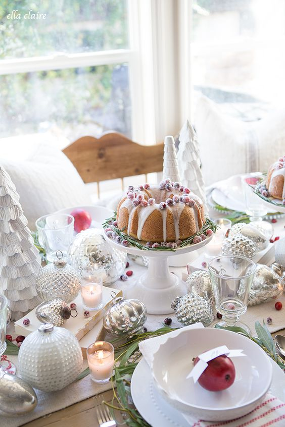 ella claire inspired | christmas tablescape: