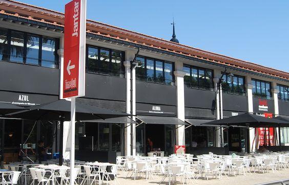 Esplanada do Mercado da Ribeira, Lisboa