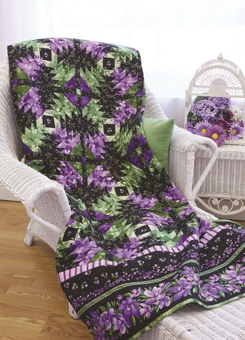 Wild Orchid Quilt Pattern Download In 2020 Quilt Pattern Download Quilt Patterns Baby Quilt Patterns
